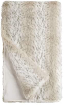 Donna Salyers' Fabulous Furs Donna Salyers Faux Fur Throw - Lynx