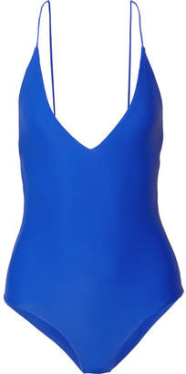 Dion Lee Fine Line Swimsuit - Azure