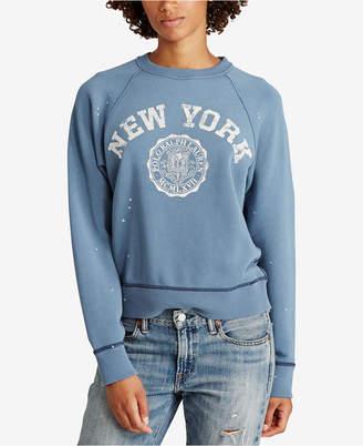 Polo Ralph Lauren Printed Fleece Pullover