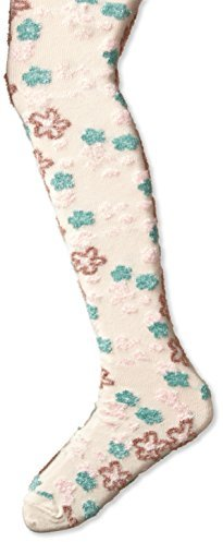 Country Kids Girls' Fuzzy Flower Tights