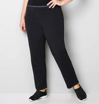 Avenue Colorblock Trim French Terry Active Pant