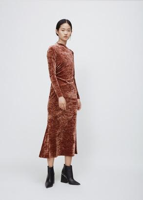 Rachel Comey apricot surveillance dress $552 thestylecure.com