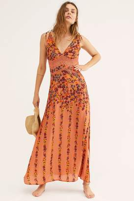 Intimately Claire Printed Maxi Slip