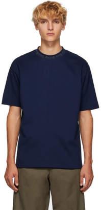Acne Studios Blue Navid Logo T-Shirt