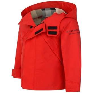 Burberry BurberryBaby Boys Red Yeoman Jacket