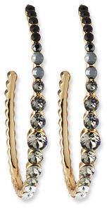 Lulu Frost Rainbow Hoop Earrings