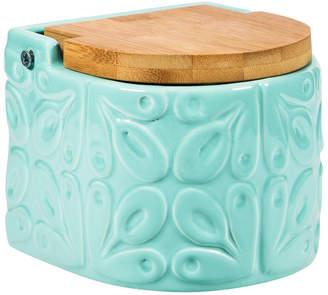 Home Essentials Embossed Salt Box