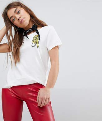 Only Tiger Print T-Shirt