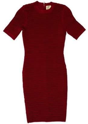 Ronny Kobo Knit Bodycon Dress