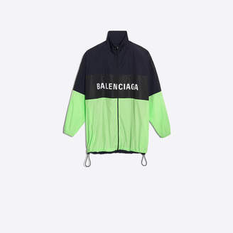 Balenciaga Tracksuit nylon jacket with logo