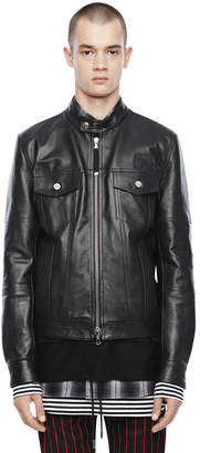 Diesel Black Gold Diesel Leather jackets BGPTA - Black - 44