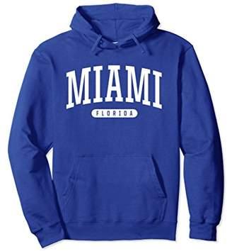 Miami Hoodie Sweatshirt College University Style FL USA
