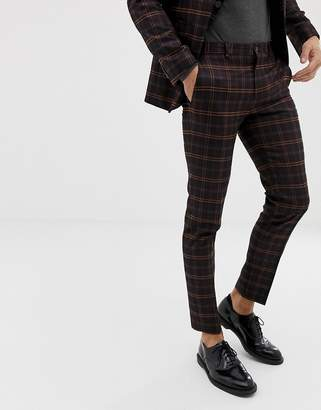 Jack and Jones Suit Pants In Slim Fit Check