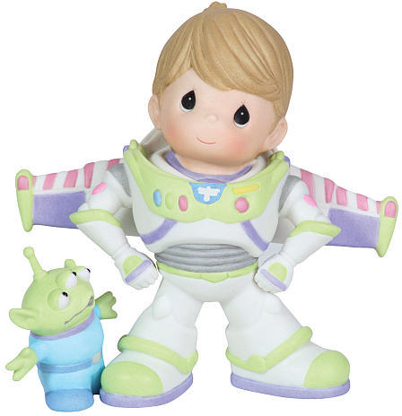"""Precious Moments Disney """"To Infinity And Beyond boy dressed as Buzz Lightyear"""