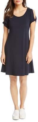 Karen Kane Cold-Shoulder Knit Dress