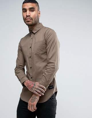 Criminal Damage Shirt In Slim Fit