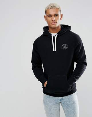 Jack Wills Batsford Hoodie In Black