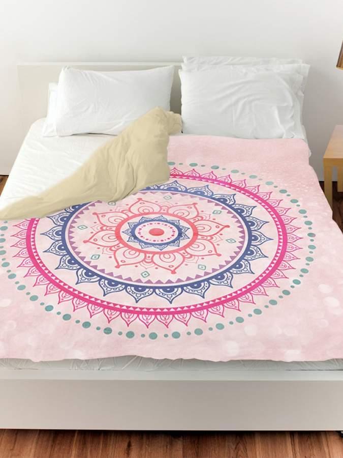 Bright Mandala Duvet Cover