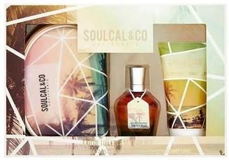Soul Cal 75ml EDT, 150ml Bodywash + Cosmetic Bag Gift Set