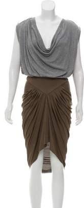 Alexander Wang High-Low Colorblock Dress w/ Tags