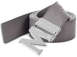 MCM Men's Embossed Accent Belt