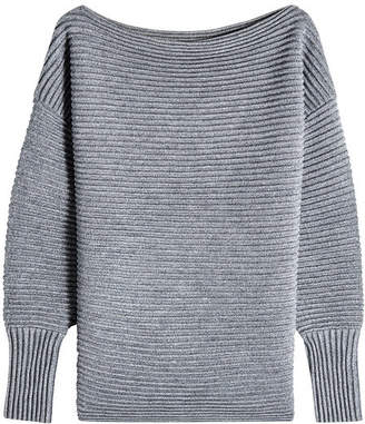Victoria Beckham Victoria Off-the-Shoulder Wool Pullover