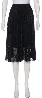 Theory Lace Knee-Length Skirt