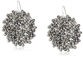 """Kenneth Cole New York Woven Item"""" Woven Faceted Bead Drop Earrings"""
