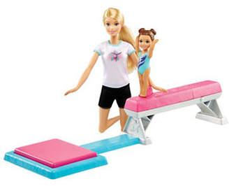 Barbie Flipping Fun Gymnast Doll and Playset