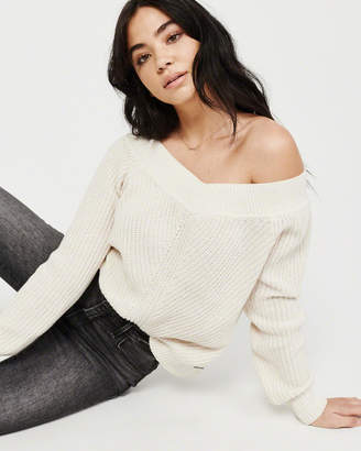 Abercrombie & Fitch The A&F Off-The-Shoulder Sweater
