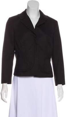 Narciso Rodriguez Virgin Wool Button-Up Blazer