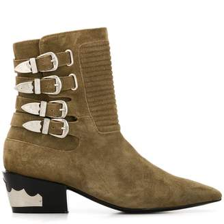 Toga Pulla suede ankle boots