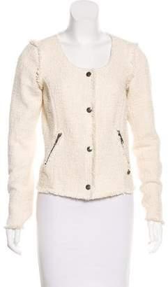 Maison Scotch Tweed Casual Jacket