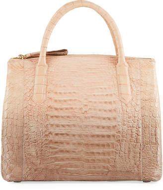 Nancy Gonzalez Nix Medium Ombre Crocodile Zip Tote Bag