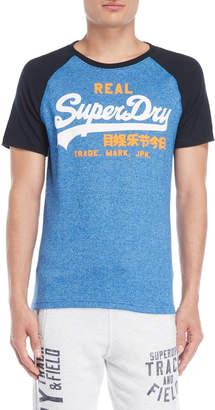 Superdry Vintage Logo Raglan Tee
