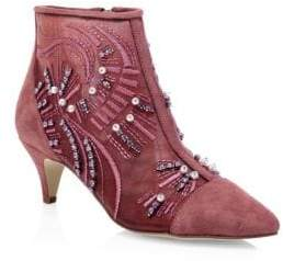 Sam Edelman Kami Embroidered Booties