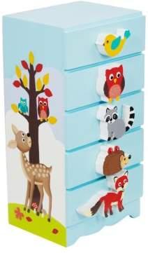 Teamson Enchanted Woodland Jewelry Box