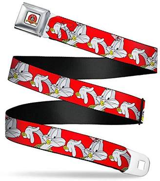 Buckle-Down Men's Seatbelt Belt Bugs Bunny XL