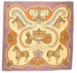 Hermes Paperoles Silk Scarf
