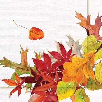 Paper Products Golden Autumn Cocktail Napkins, Set of 20