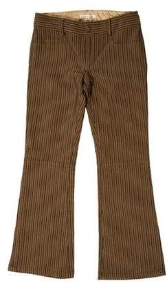Alice + Olivia Striped Cropped Pants