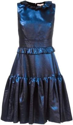 Maria Lucia Hohan ruffled flare dress