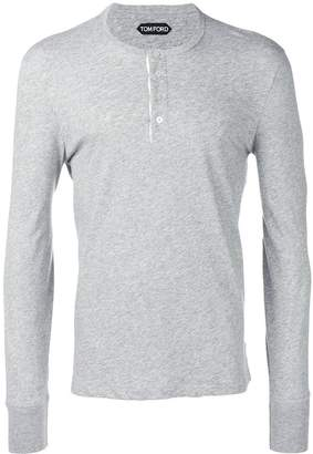 Tom Ford long-sleeved T-shirt