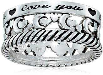 """Sterling Silver """"I Love You to The Moon and Back"""" Ring"""