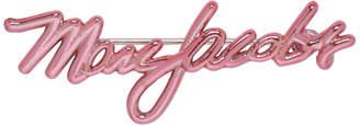 Marc Jacobs Pink Logo Brooch