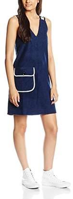 Peter Jensen Women's Rabbit Strap A-Line Plain Sleeveless Dress,(Manufacturer Size:Large)