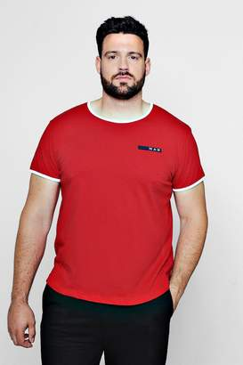 boohoo Big And Tall MAN Sport T-Shirt