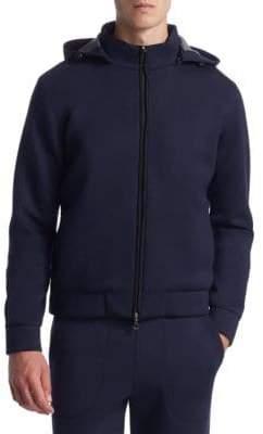 Saks Fifth Avenue COLLECTION Scuba Track Jacket