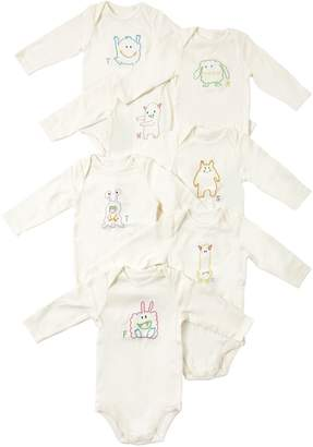 Stella McCartney Set Of 7 Cotton Interlock Bodysuits