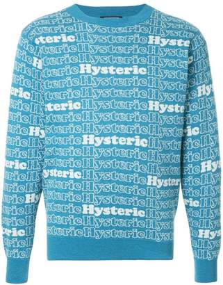 Hysteric Glamour Hysteric intarsia jumper